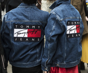 denim, tommy jeans, and fashion image