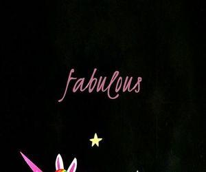 wallpaper, fabulous, and unicorn image