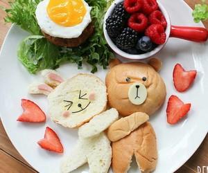 food, line, and yummy image