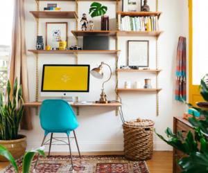 interior, boho, and decor image