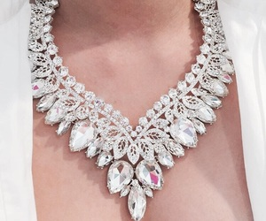 necklace, diamond, and luxury image