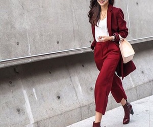 blazer, career, and fashion image