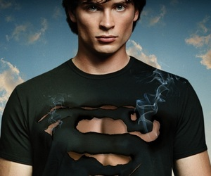 smallville, superman, and tom welling image
