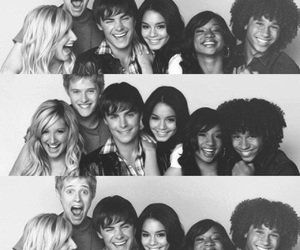HSM, troy, and gabriella image