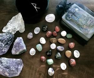 magic, stone, and runes image