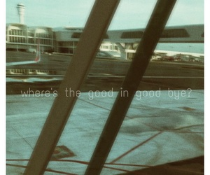 airport, farewell, and sad image