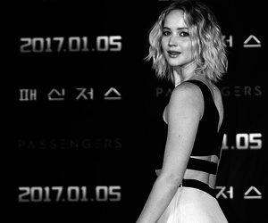 Jennifer Lawrence and passengers image