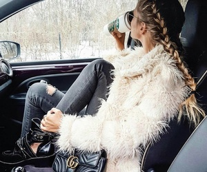 fashion, braid, and outfit image