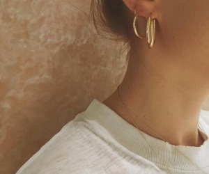 details, earrings, and fashion image