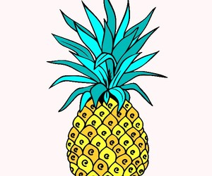 art, pineapple, and mandalas coloring pages image