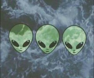 alien, wallpaper, and tumblr image