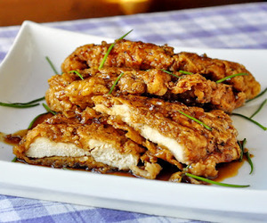Chicken, yummy, and food image
