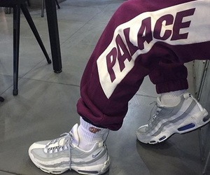 nike, palace, and fashion image