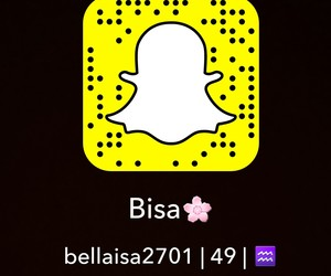 chat, snap, and 🌸 image