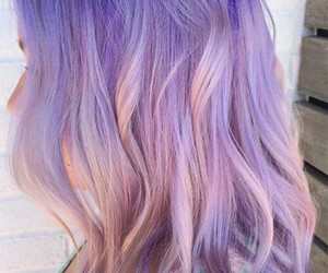 beautiful, dye, and lavender image