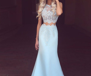 dress, style, and lace image