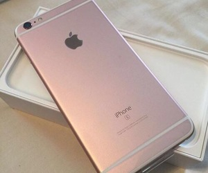 iphone, rose gold, and 6 image