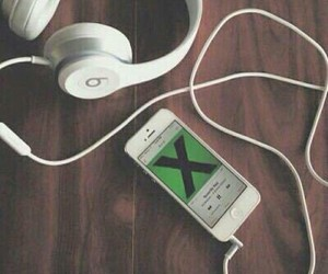 music, ed sheeran, and beats image