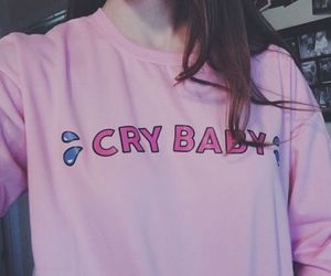 crybaby, pink, and tumblr image