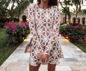 brunette, outfit, and fashion image