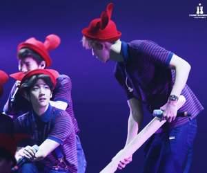 Chen, xiumin, and chanyeo image