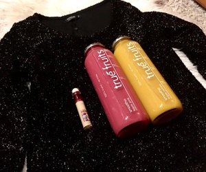 Maybelline, pink, and sequin image