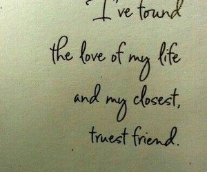 boyfriend, life, and quote image
