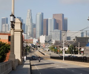 california, downtown, and los angeles image