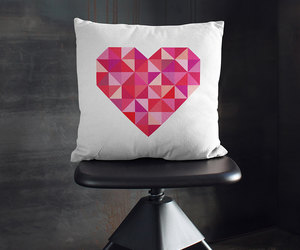 bedroom, throw pillows, and decorative pillows image