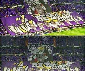 fans, santiago bernabeu, and aficion image