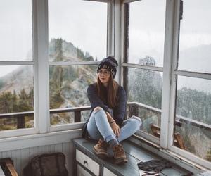 mountains, boho, and cold image