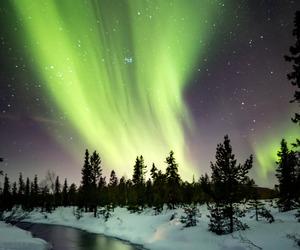 aurora, nature, and night image