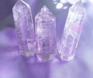 crystal, pink, and aesthetic image