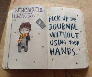 harry potter, wreck this journal, and cute image