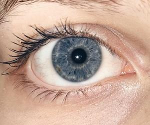 blue, girl, and eye image