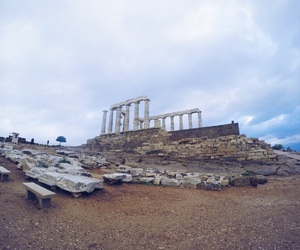Greece, greek, and ruins image