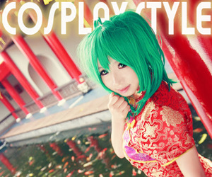 chinese dress, cosplay, and macross frontier image