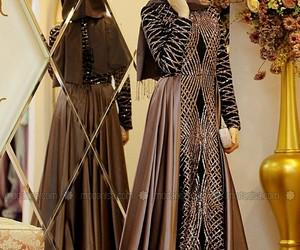 classy, fashion, and abaya image