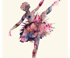ballet, art, and girl image