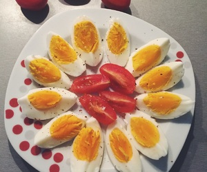 boiled, dinner, and eggs image