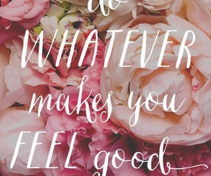 quotes, flowers, and wallpaper image
