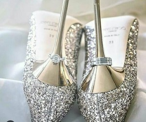 shoes, wedding, and heels image