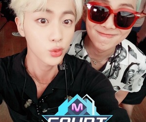 jin and namjoon image
