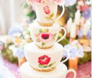 alice in wonderland, cake, and disney image