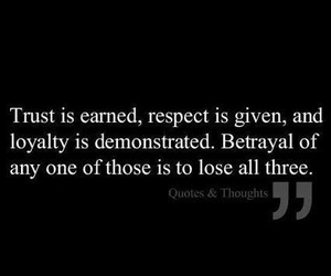 quotes, trust, and respect image