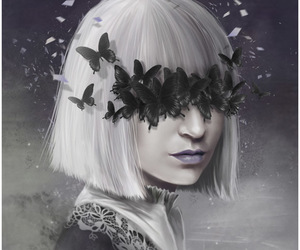crazy, lonely, and ️sia image