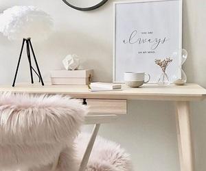 pink, bedroom, and design image