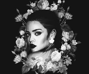 rihanna, wallpaper, and flowers image
