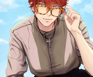 707, mystic messenger, and seven image