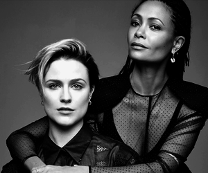 Evan Rachel Wood, thandie newton, and westworld image